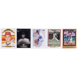 Lot of (5) Nolan Ryan Baseball Cards