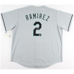 Hanley Ramirez Signed Marlins Jersey (Hollywood Collectibles COA)