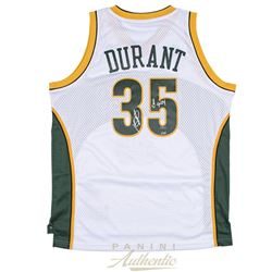 "Kevin Durant Signed Supersonics Jersey Inscribed ""08 ROY"" (Panini COA)"