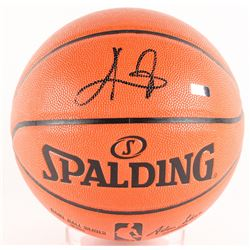Kyrie Irving Signed Basketball (Panini COA)