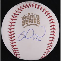 Miguel Montero Signed Official 2016 World Series Baseball (Schwartz COA)