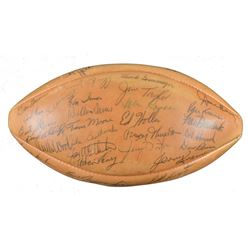 "1963 Packers ""The Duke"" Official NFL Gameball Team-Signed by (45) with Bart Starr, Vince Lombardi, W"