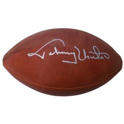 Johnny Unitas Signed Official NFL Game Ball (PSA LOA)