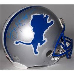 Barry Sanders Signed Lions Full-Size Authentic On-Field Helmet (Radtke COA  Schwartz Hologram)
