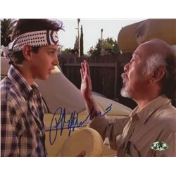 Ralph Macchio Signed 'The Karate Kid'  8x10 Photo (MAB Hologram)