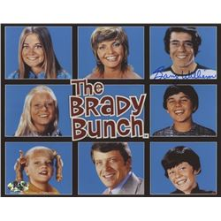 "Barry Williams Signed ""The Brady Bunch"" 8x10 Photo (MAB Hologram)"