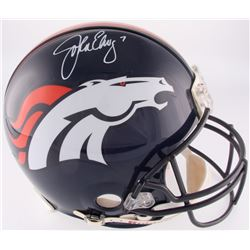 John Elway Signed Broncos Full-Size Authentic On-Field Helmet (Radtke Hologram)