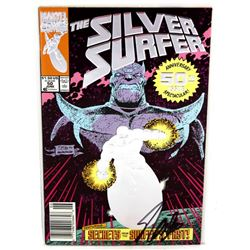 "Stan Lee Signed ""The Silver Surfer"" Comic Book (Lee Hologram)"