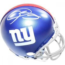 Odell Beckham Jr. Signed Giants Mini Helmet (Steiner COA)