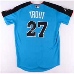 Mike Trout Signed 2017 All-Star Game Authentic Majestic Cool Base Jersey (MLB Hologram)