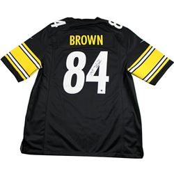 "Antonio Brown Signed Steelers Jersey Inscribed ""Steeler Nation"" (Steiner COA)"