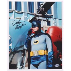 "Adam West Signed ""Batman"" 11x14 Photo (Beckett COA)"
