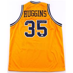 "Bob Huggins Signed West Virginia Mountaineers Jersey Inscribed ""Go Eers!"" (TSE Hologram)"