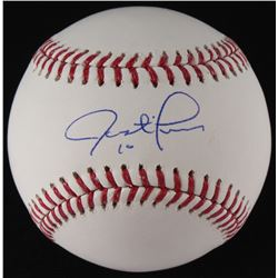 Justin Turner Signed OML Baseball (MLB Hologram)