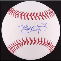 Brandon Crawford Signed OML Baseball (MLB Hologram)
