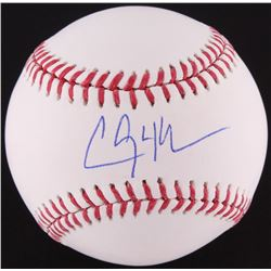 Clayton Kershaw Signed OML Baseball (MLB Hologram)