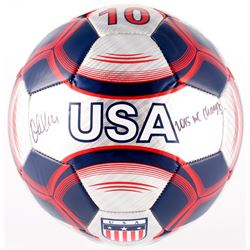 "Christen Press Signed Nike Team USA Soccer Ball inscribed ""2015 WC Champs"" (JSA COA)"