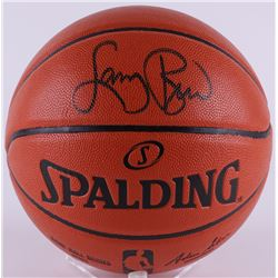 Larry Bird Signed NBA Game Ball Series Basketball (PSA COA)