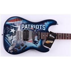 Tom Brady Signed LE Patriots Electric Guitar (Steiner COA)