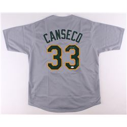 Jose Canseco Signed Athletics Jersey (JSA COA)