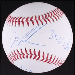 "Dwight ""Doc"" Gooden Signed OML Baseball Inscribed ""84 R.O.Y.""  ""3x W.S. Champ"" (JSA COA)"