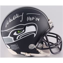 "Walter Jones Signed Seahawks Mini-Helmet Inscribed ""HOF '14"" (JSA COA)"