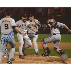 Pat Burrell Signed Giants 8x10 Photo (FSC COA)