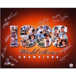 1966 Orioles World Series Champions 16x20 Photo Team-Signed by (11) with Jim Palmer, Boog Powell, Ed