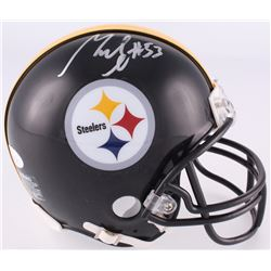 Maurkice Pouncey Signed Steelers Mini-Helmet (JSA COA)