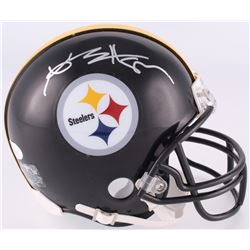 Antonio Brown Signed Steelers Mini-Helmet (JSA COA)