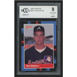 1988 Donruss #644 Tom Glavine RC (BCCG 9)