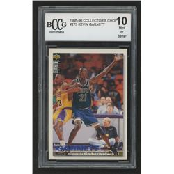 1995-96 Collectors Choice #275 Kevin Garnett (BCCG 10)