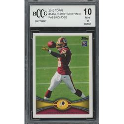 2012 Topps #340A Robert Griffin III RC (BCCG 10)