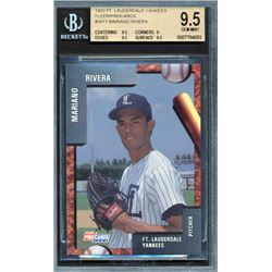 1992 Fort Lauderdale Yankees Fleer / ProCards #2611 Mariano Rivera (BGS 9.5)