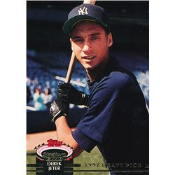 1993 Stadium Club Murphy #117 Derek Jeter RC