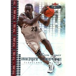 2003-04 Fleer Mystique Secret Weapons #1 LeBron James #072/500