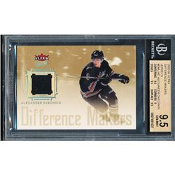 2005-06 Ultra Difference Makers Jerseys #DMJAO Alexander Ovechkin (BGS 9.5)