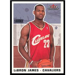 2003-04 Fleer Tradition #261 LeBron James RC