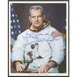 "Deke Slayton Signed 8x10 Photo Inscribed ""Best Wishes"" (JSA LOA)"