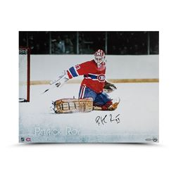 "Patrick Roy Signed Canadiens ""The Save"" 16x20 Photo (UDA)"