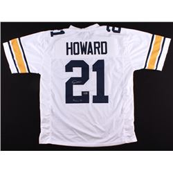 "Desmond Howard Signed Michigan Wolverines Jersey Inscribed ""Heisman 91"" (Radtke COA)"