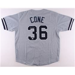 David Cone Signed Yankees Jersey (JSA COA)