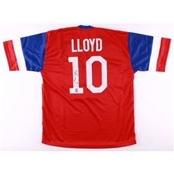 Carli Lloyd Signed Team USA Jersey (Lloyd Hologram)