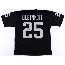 "Fred Biletnikoff Signed Raiders Jersey Inscribed ""SB XI MVP"" (Radtke COA)"
