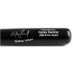 "Hanley Ramirez Signed Game-Used 2009 Marlins Marucci Model H2R-M Baseball Bat Inscribed ""Game Used"""