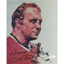 Bobby Hull Signed Blackhawks 8x10 Photo (JSA COA)