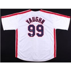 "Charlie Sheen Signed Indians ""Major League"" Ricky Vaughn Wild Thing Jersey (JSA COA)"