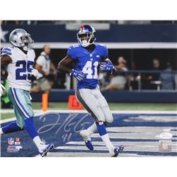 Dominique Rodgers-Cromartie Signed Giants 11x14 Photo (JSA COA)