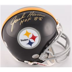 "Jack Ham Signed Steelers Mini-Helmet Inscribed ""HOF 88"" (Radtke COA)"