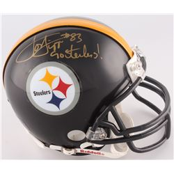 "Louis Lipps Signed Steelers Mini-Helmet Inscirbed ""Go Steelers!"" (Radtke COA)"